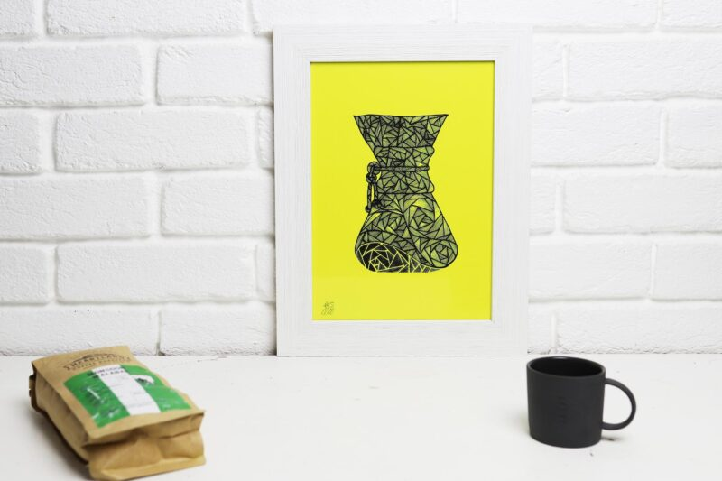 chemex screen print for your home